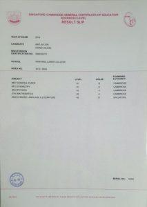 A-Level-Certificate
