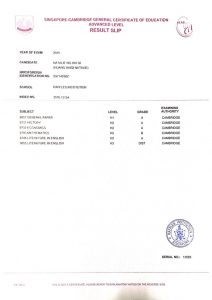 A-Level-Results-Slip