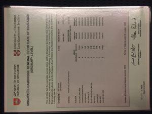 O-Level-Certificate